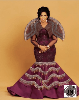 Actress Toyin Afolayan looks gorgeous in 61st birthday shoot